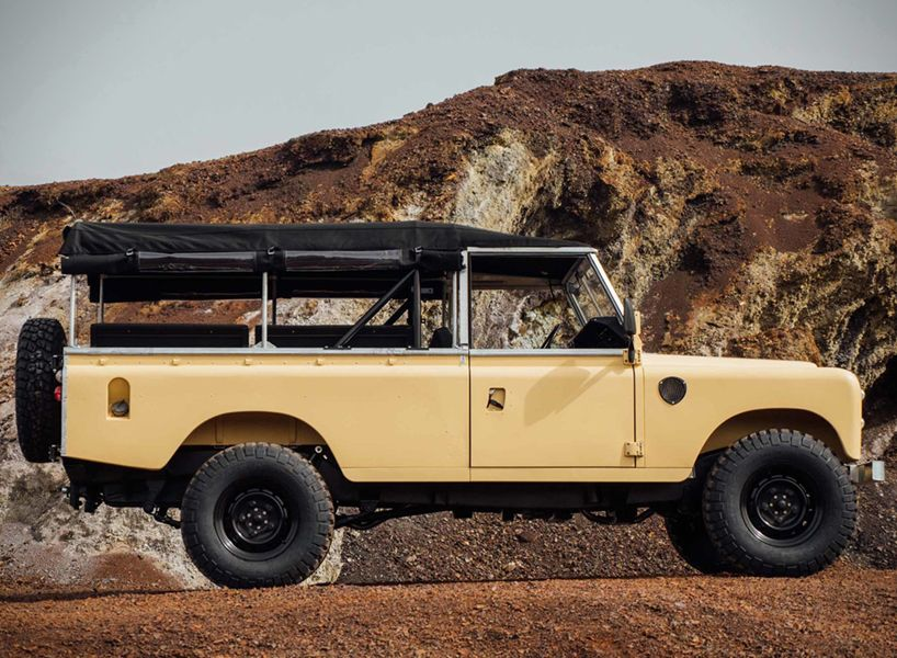 The Land Rover 109 Custom Beach Runner By Coolnvintage Land