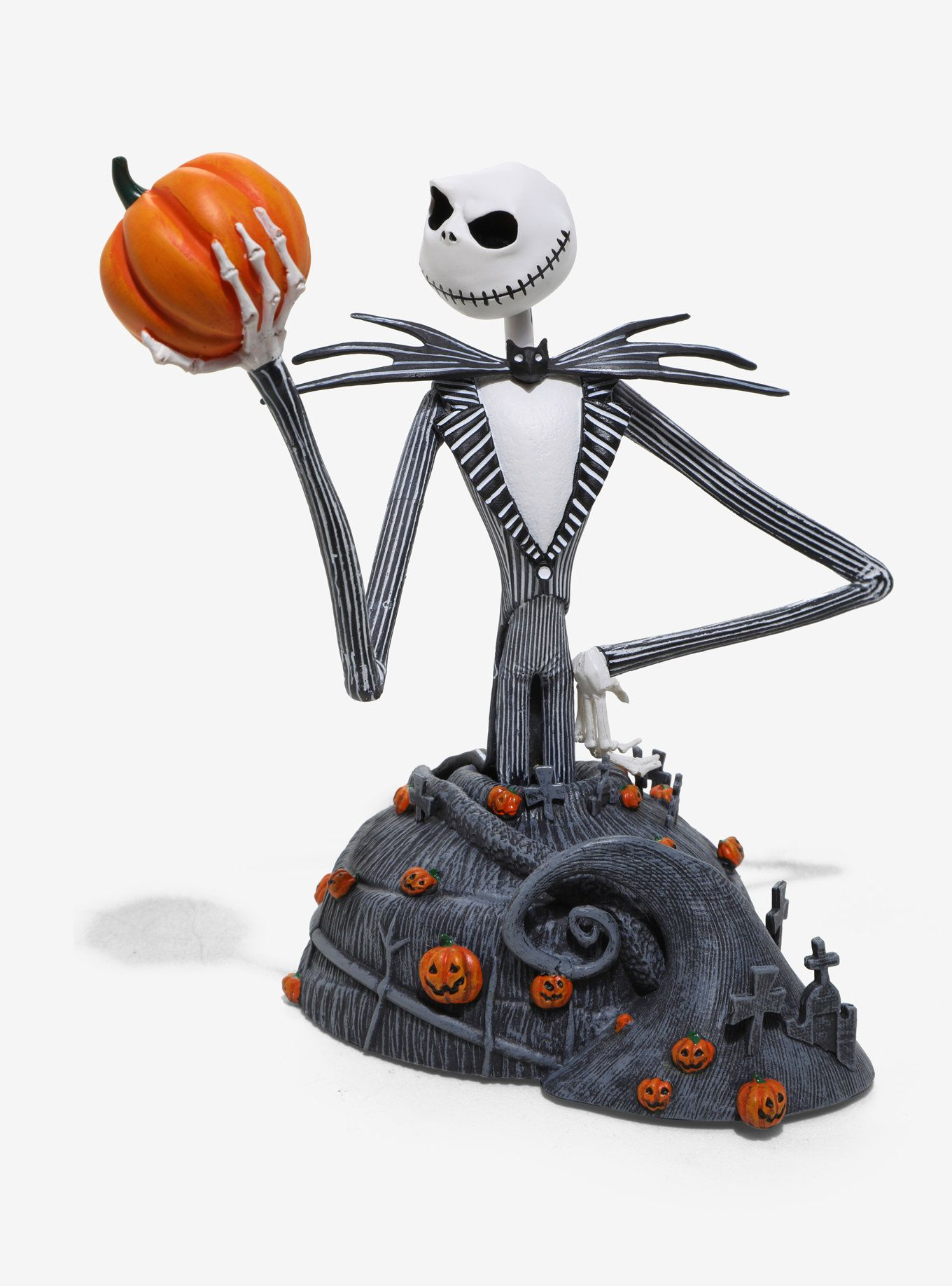 The Nightmare Before Christmas Jack Resin Bust   The Nightmare ...