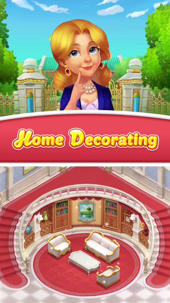 Cool Decorate Your Mansion With A Match 3 Makeover Puzzle Game Download Free Architecture Designs Scobabritishbridgeorg