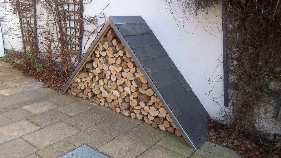An Idiosyncratic Triangular Log Store.