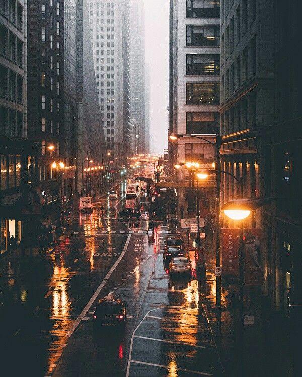 City lights. Photo by Michael Salisbury: https://goo.gl/VDOY5d #travel
