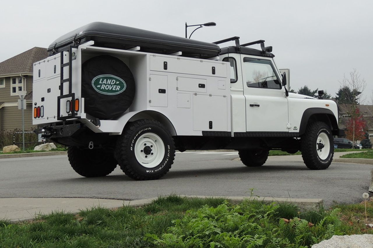 Land Rover Expedition Vehicle Land Rover Expedition Vehicle Land Rover Defender