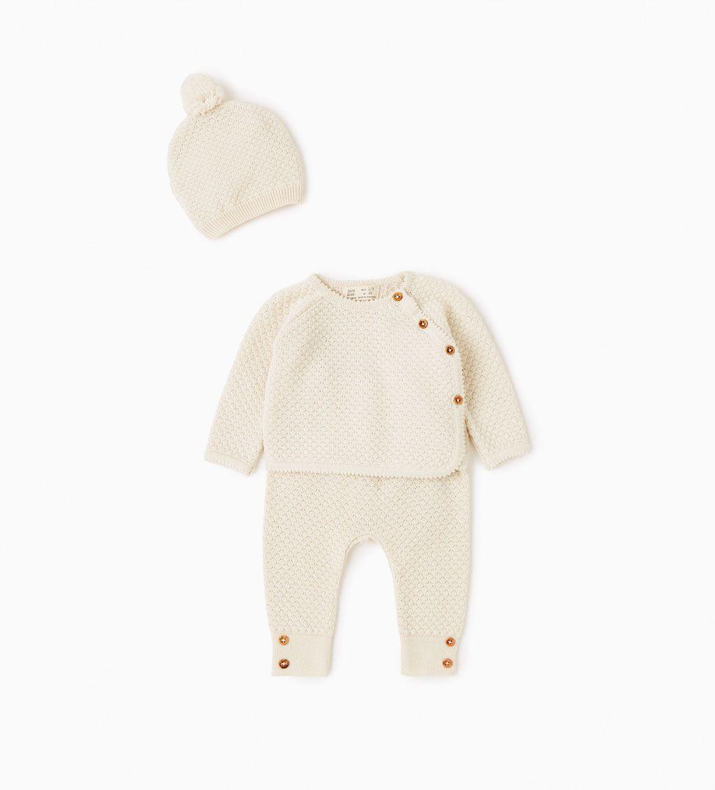 Prendas de punto para bebé | MINI | ZARA España | Baby Boy ...
