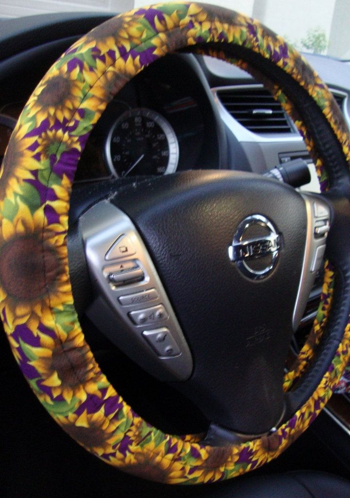 Pleasing Steering Wheel Cover Floral Sunflowers Yellow By Andrewgaddart Wooden Chair Designs For Living Room Andrewgaddartcom
