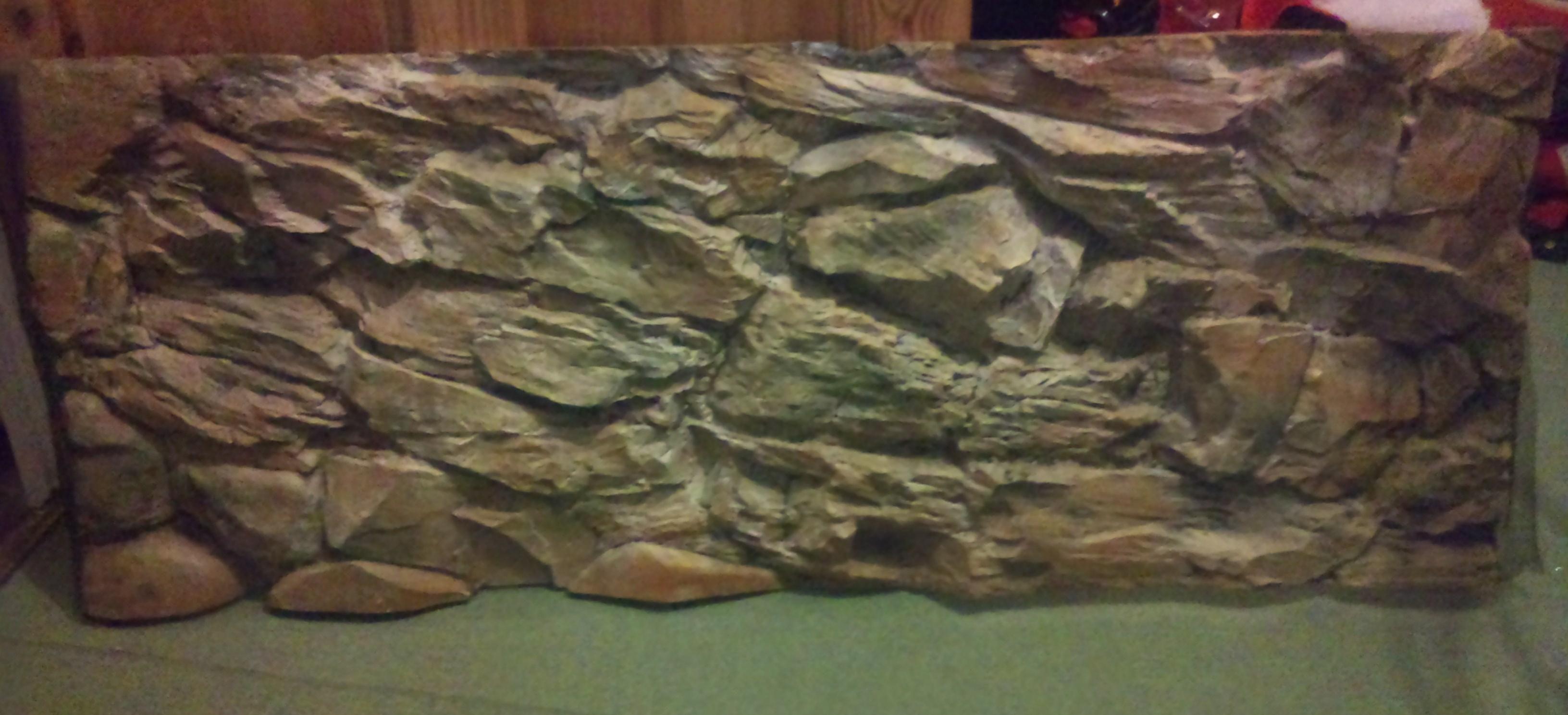 Aquarium Fake Rock Rock Face Fake Rock Wall