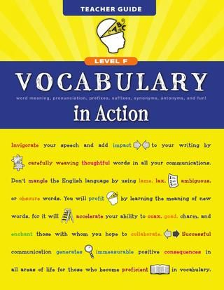 Vocabulary in Action Level H | grammar | English grammar book