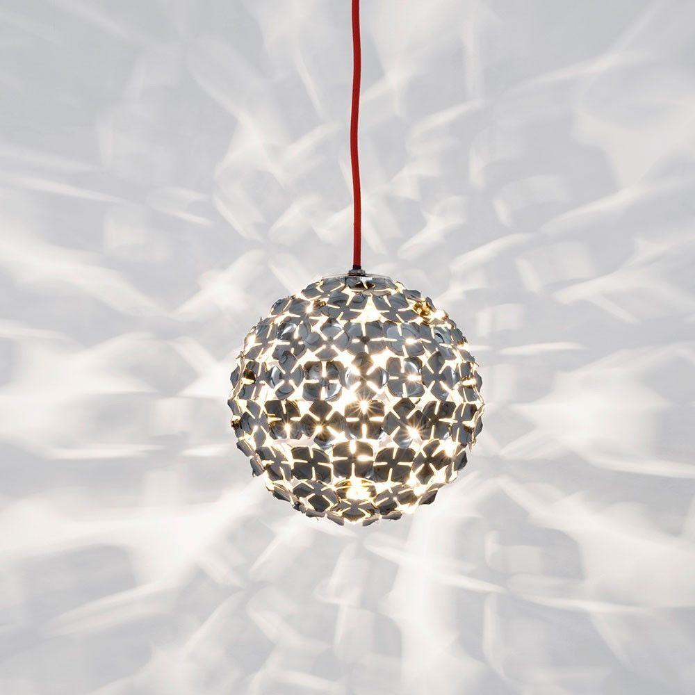 Terzani Leuchten terzani ortenzia hängeleuchte 11 cm nickel hängele