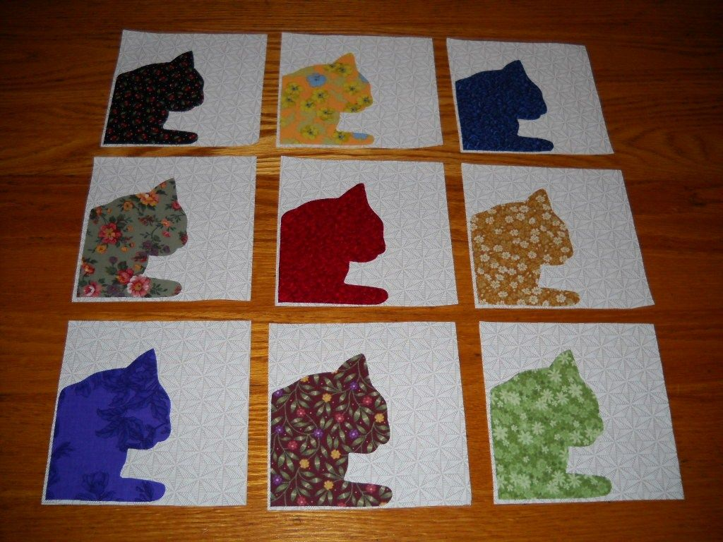 Pin by Mama J on Marsye's quilt blocks Cat quilt, Cat