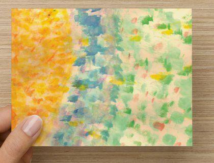 Sunshine Blank Notecard  Set of 10 by FranciaMWilson on Etsy