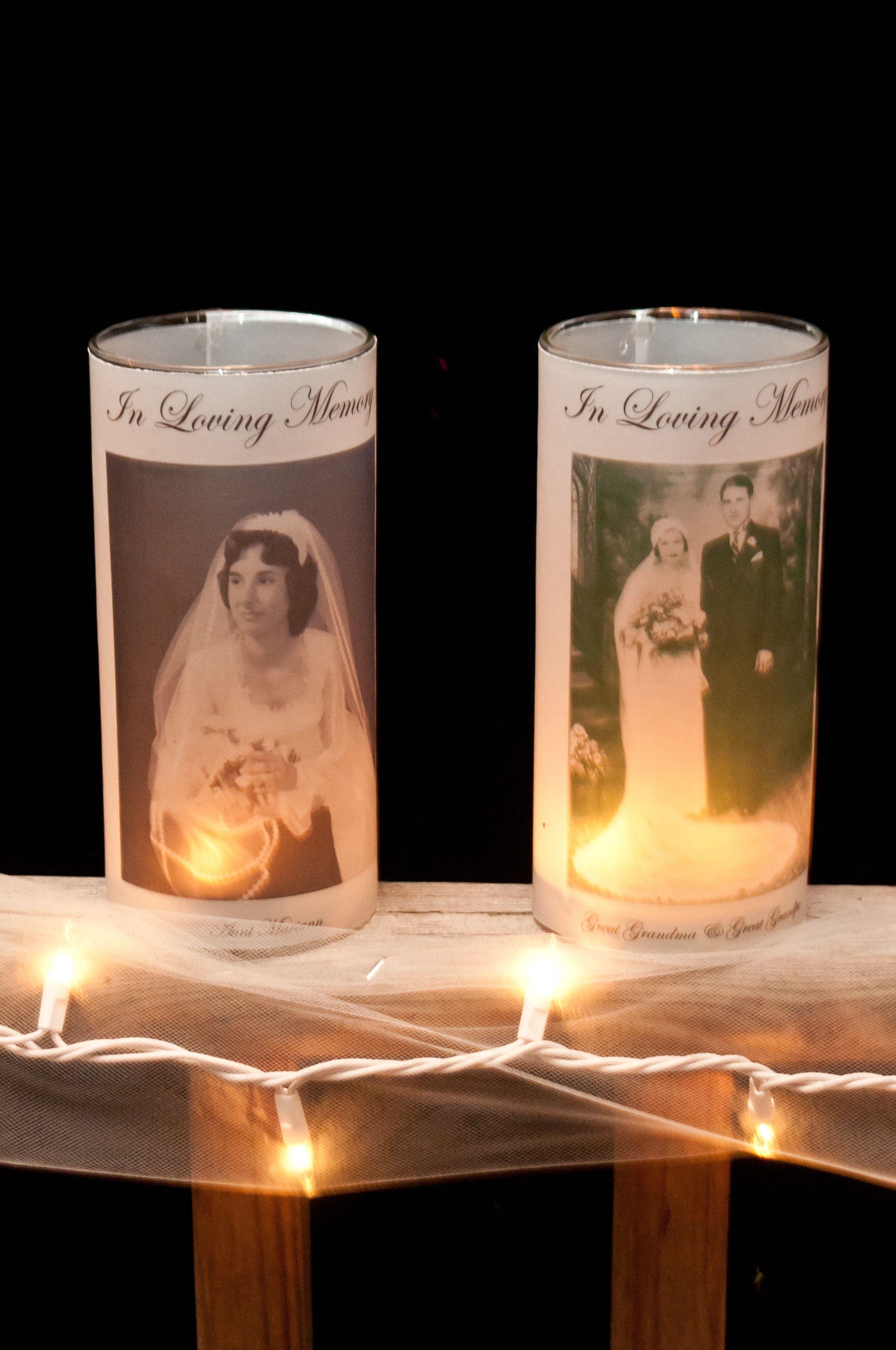 Memorial Candles Dollar Store Vases Vellum Paper Super Easy