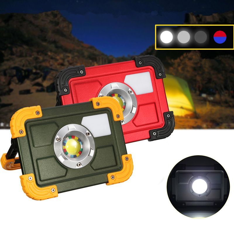 30w Cob 4 Mode Led Portable Usb Rechargeable Flood Light Spot Hiking Camping Outdoor Work Lamp Camping From Sports Outdoor On Banggood Com Flood Lights Flood Usb Rechargeable