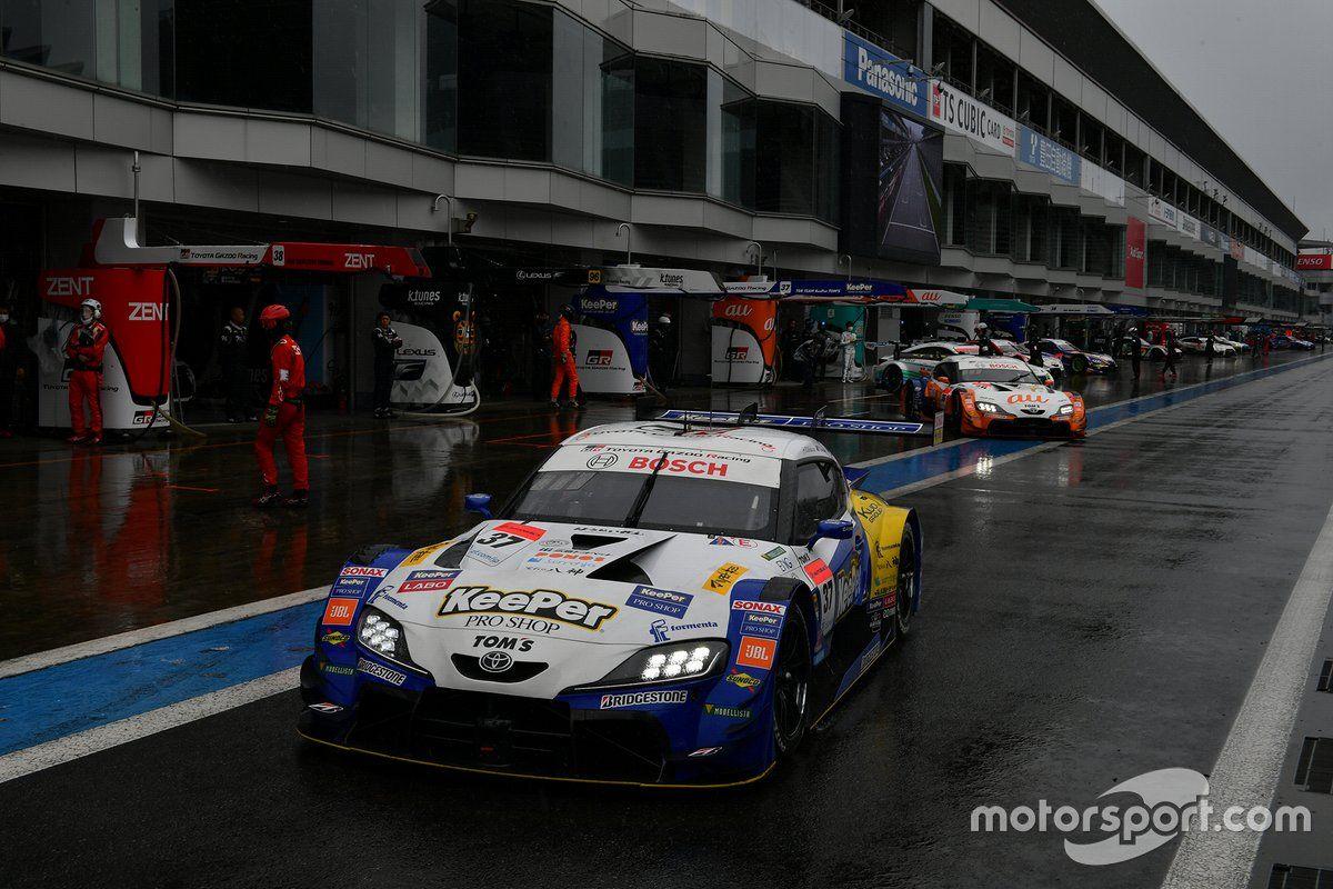 2020 Toms Supra Super Gt In 2020 Sports Car Supra Racing