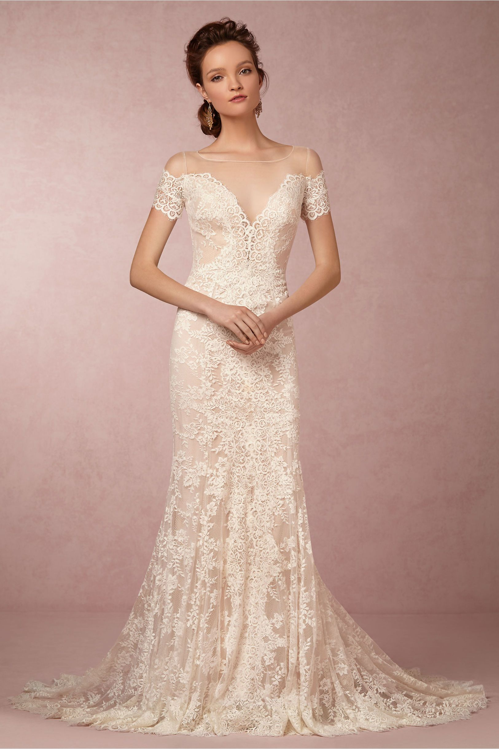 Mila Gown from BHLDN | Wedding | Pinterest | De novia, Vestidos de ...