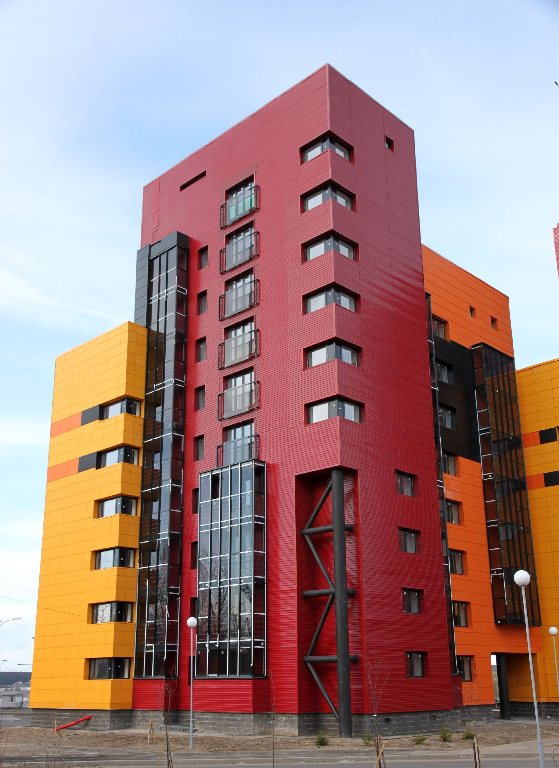 примеру, вам фасад многоэтажки фото ли