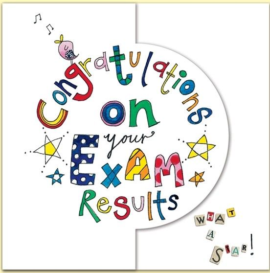 Congratulations On Your Exams Results Card Now Available Www Dizzyduckspartyco Com Congratulations Card Exam Exam Wishes Good Luck Exam Cards