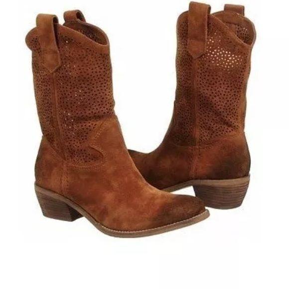 22642581d06 Bcbg Bastille laser cut cowboy boots BCBGeneration Womens Bastille ...
