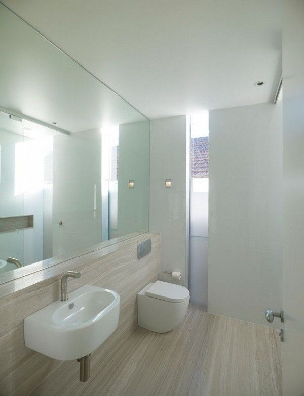 Image Result For Bathroom Entire Mirrored Wall