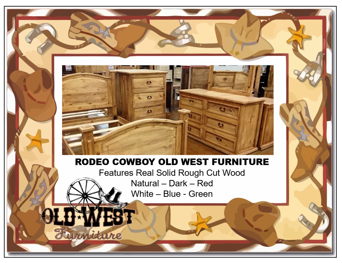 Welcome to barter post old west furniture a different kind of