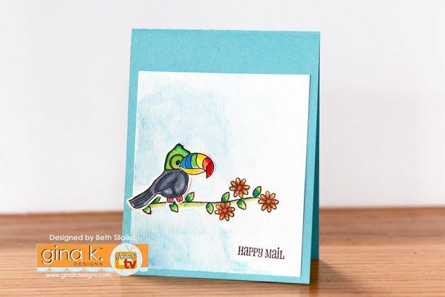 Gina K Designs – December Inspiration Blog Hop – Day 2 (Ft. Xavier Zebra)