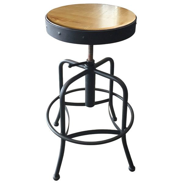 Outstanding Holland Bar Stool 910Bwnat Black Wrinkle Steel Height Pdpeps Interior Chair Design Pdpepsorg