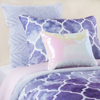 Watercolor Bree 6 Piece Reversible Comforter Set Comforter Sets