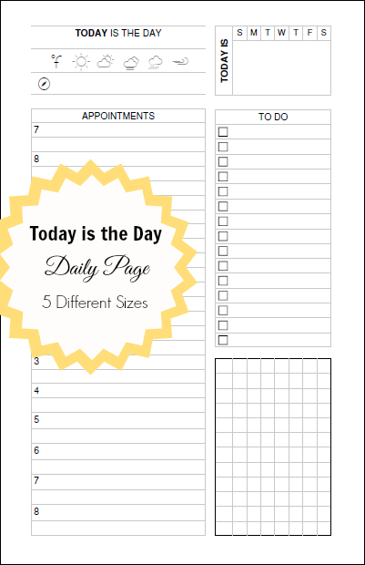 picture about Daily Docket Printable identify Presently is the Working day - A Day-to-day Docket [printable] Print This