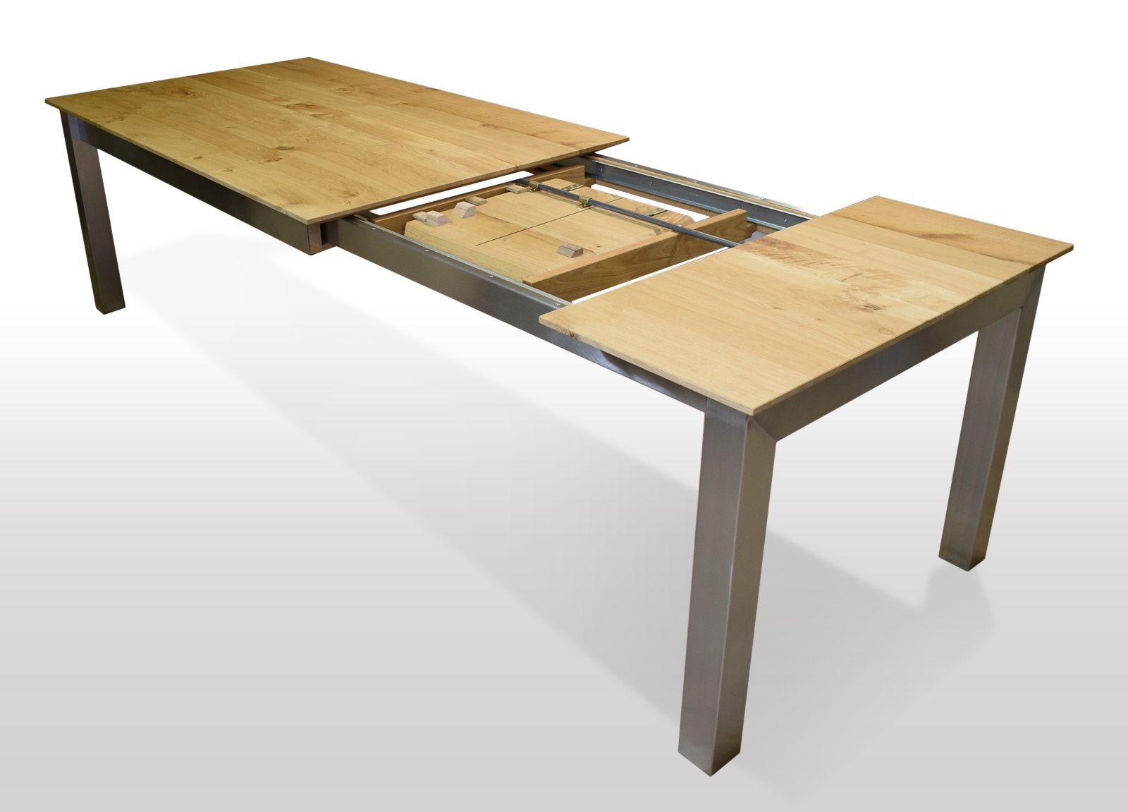 Tisch Wildeiche massiv   Breite 80cm / Länge wählbar ...