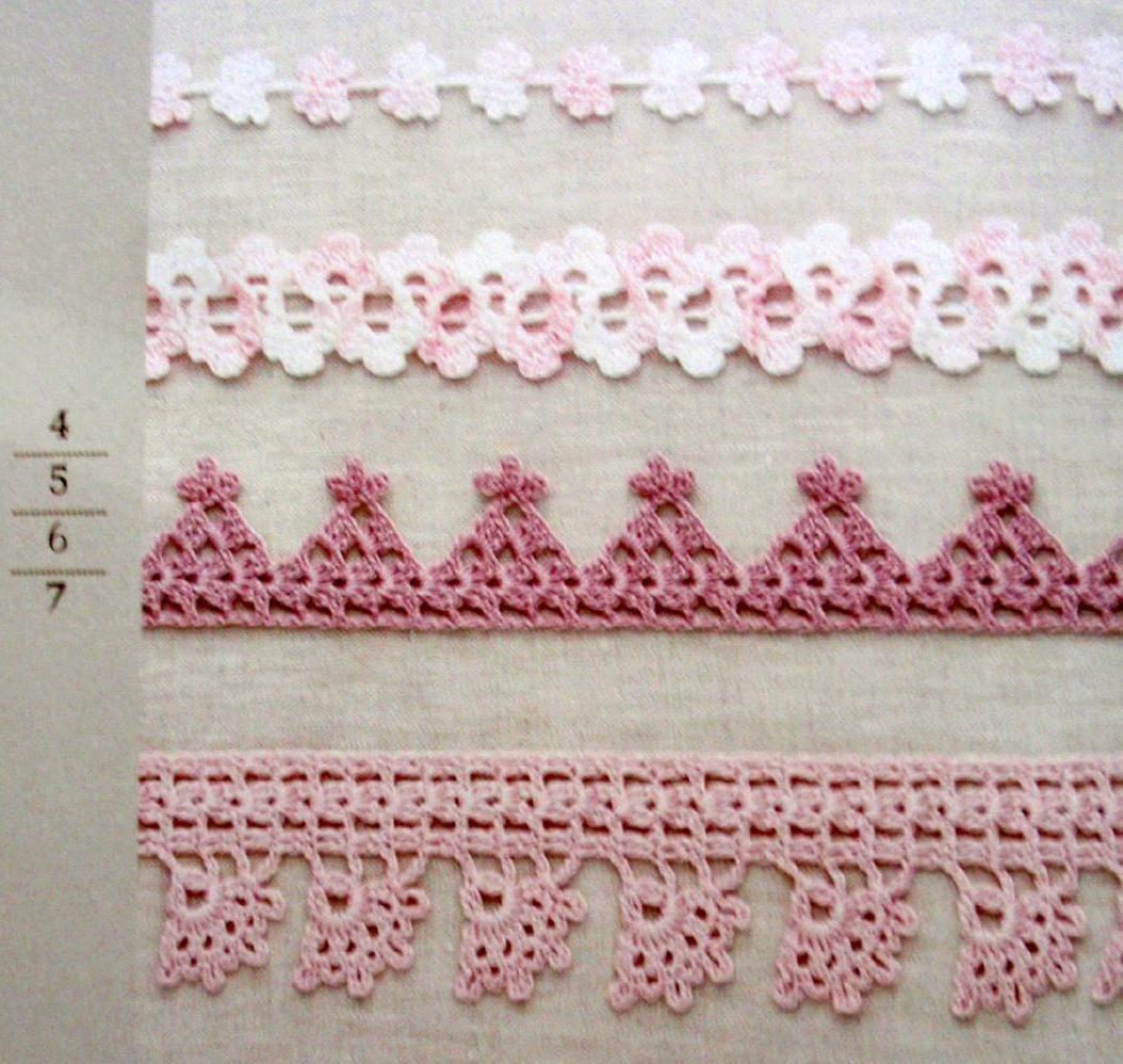Asahi original crochet edging and braid 1 crochet originals and clippedonissuu from asahi original crochet edging and braid 1 pooptronica