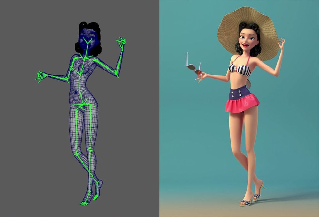 Character Rigging Reel by Dario Triglia, Character Rigging Reel