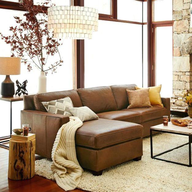 leather sofa decor amazing light brown leather sofa best ...