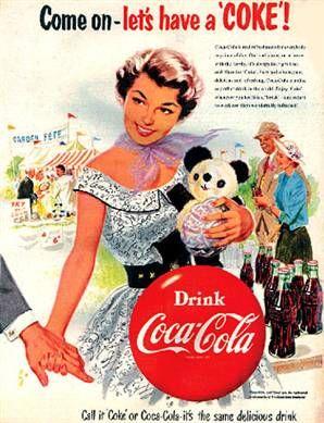 Come let's have a Coke