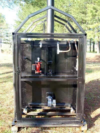 Plans how to build a clean burning outdoor furnace