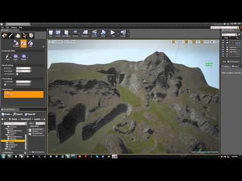 UE4 Landscape Material Summary | Unreal4 in 2019 | Landscape