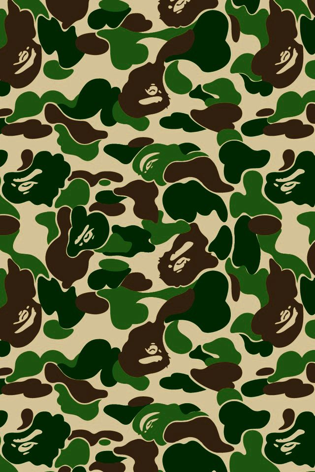 Idea By Akarin Sujjavasin On Camo Bape Shark Wallpaper Bape