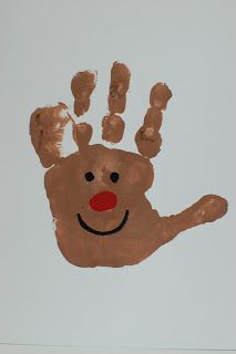 Mistletoes Footprint Craft