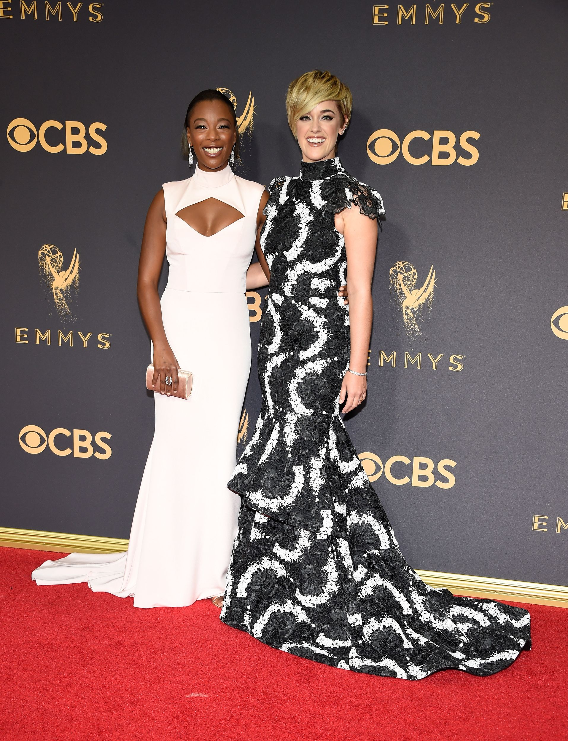Kate Mckinnon And Girlfriend Jackie Abbott Make Official Debut At Emmys Photos