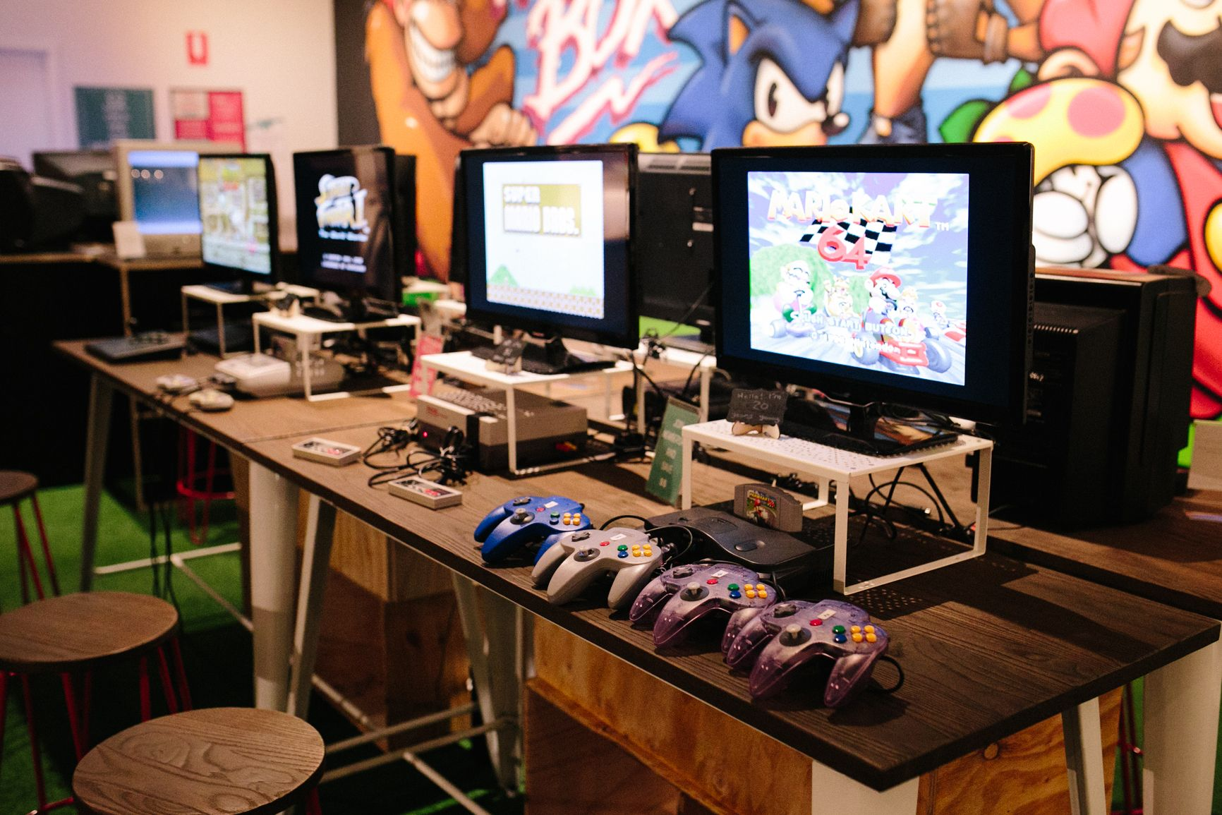 The Nostalgia Box – Video Game Console Museum in Perth - great place to visit for history for Unschooling kids who love gaming