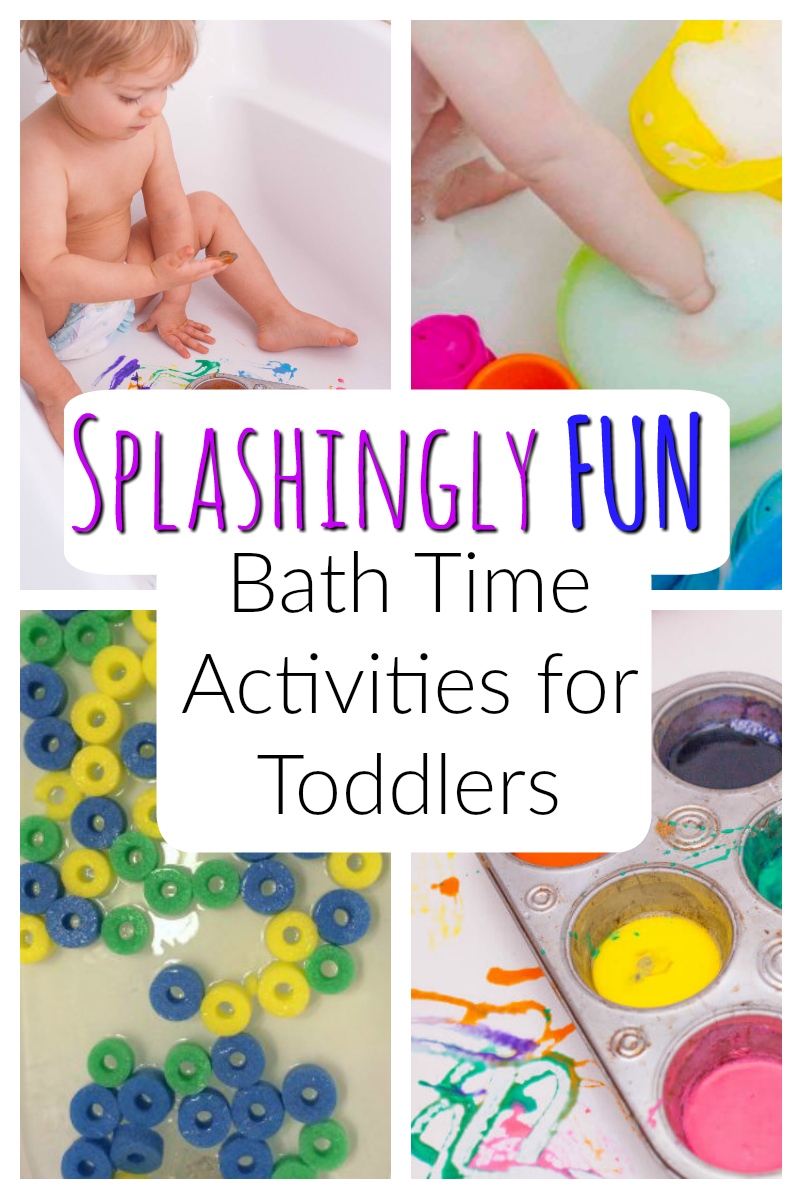 Splashingly Fun Bath Time Activities for Toddlers! images