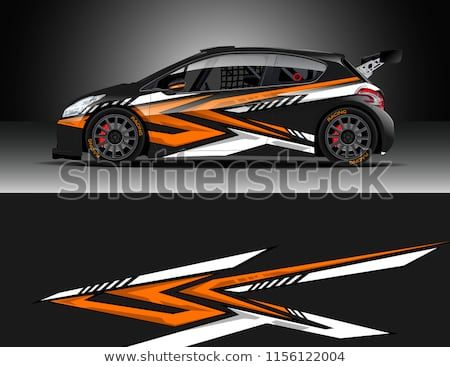 Car Decal Design Vector Graphic Abstract Stripe Racing Background Designs For Vehicle Race Rally Adventure And Car Wrap Design Car Decals Cool Sports Cars