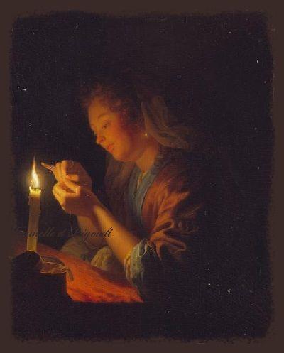 Broderies... (avec images)   Clair obscur, Peinture ...