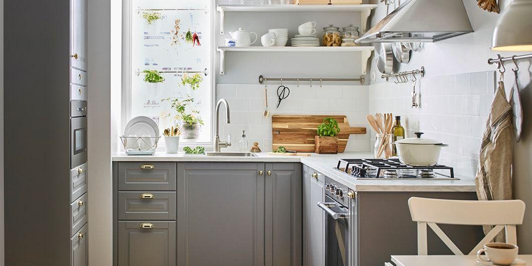Modna I Funkcjonalna Kuchnia Ikea Kitchen Inspiration Small Kitchen Kitchen Design