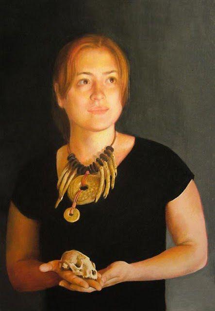 Nicole Caulfied, portrait of Robin