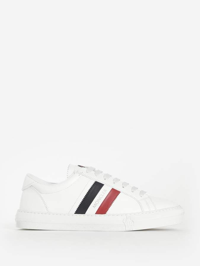 9f509383143 Moncler WHITE LA MONACO SNEAKERS in 2019 | Products | Sneakers ...