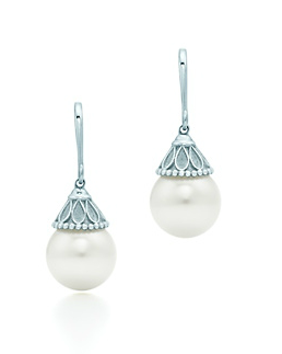 Art Deco Pearl Earrings From Tiffany S Gatsby Inspired Ziegfeld Collection