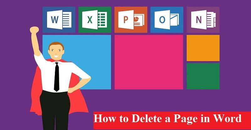 How To Delete An Unwanted Blank Page In Word Microsoft Office Microsoft Affiliate Marketing Course