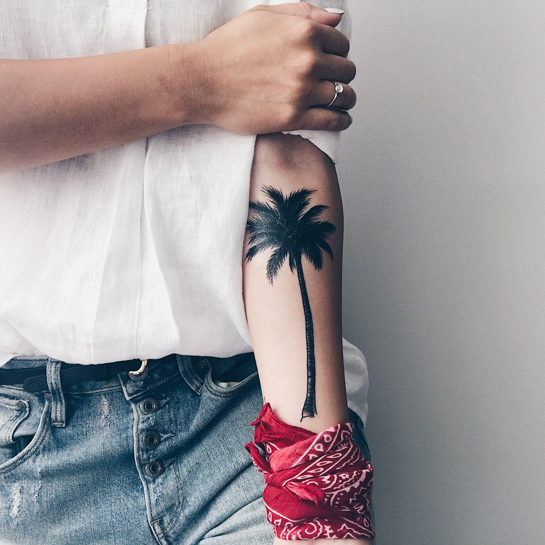 тату пальма идеи для татуировок пальмы тату и тату самолет