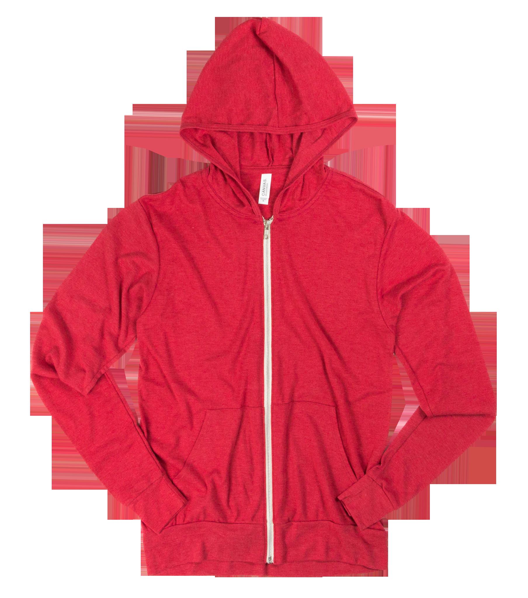 47dabf6d Co-ed Monkey- Custom Canvas 50/ 25/ 25 Full Zip Lightweight Hooded T-Shirt  25 @ $29