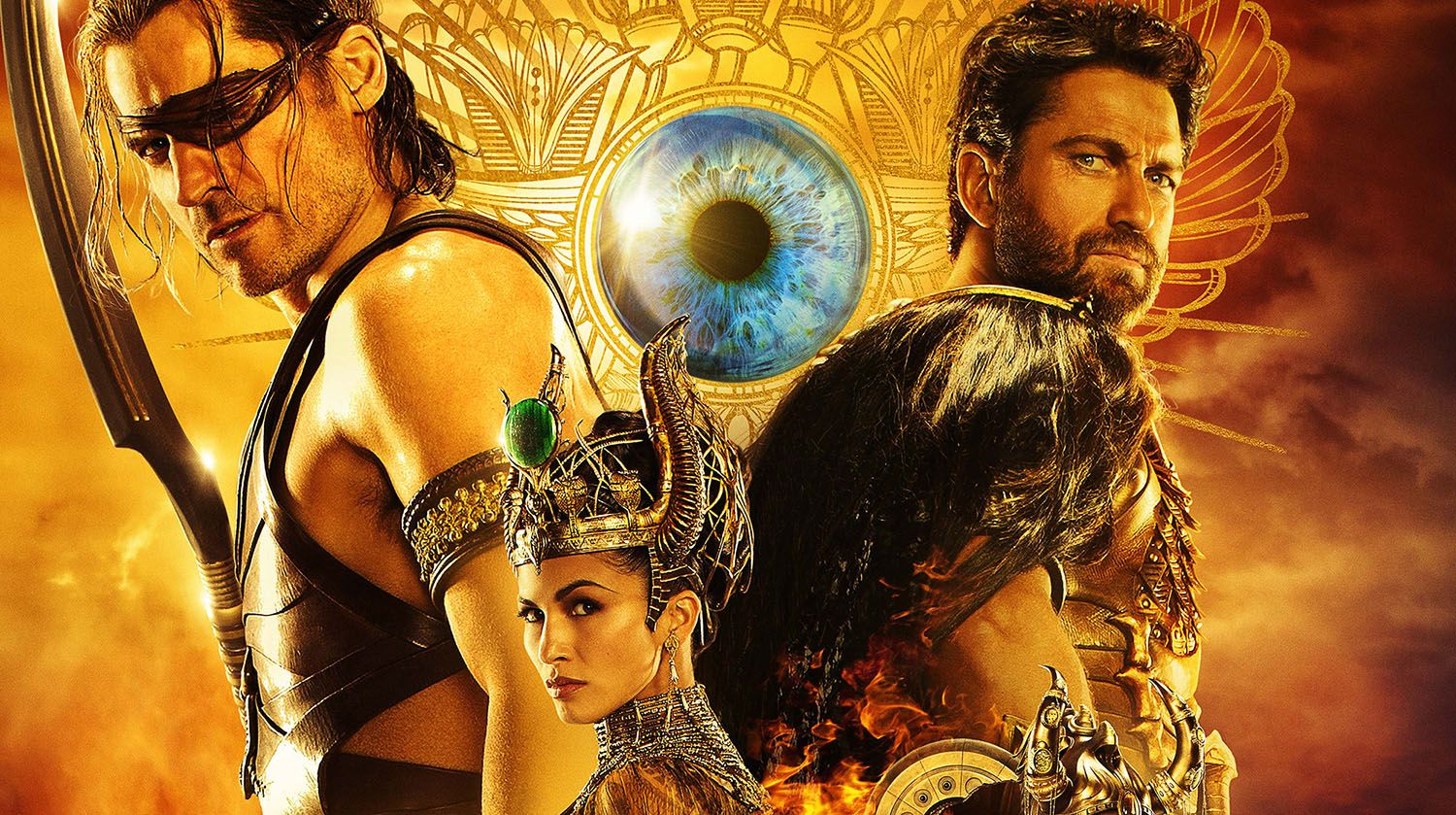 New Poster And Tv Spot For Gods Of Egypt Egito Deuses Do Egito