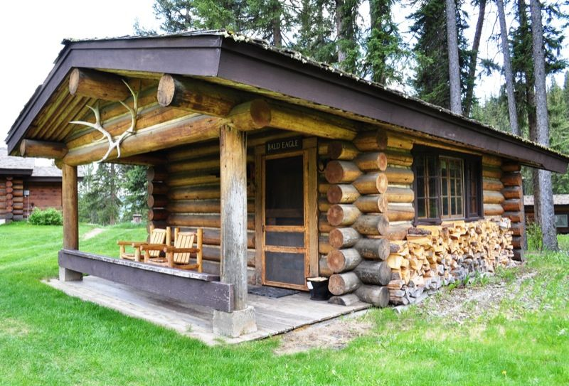 Cabins at big sky montana cabins and cottages tiny log