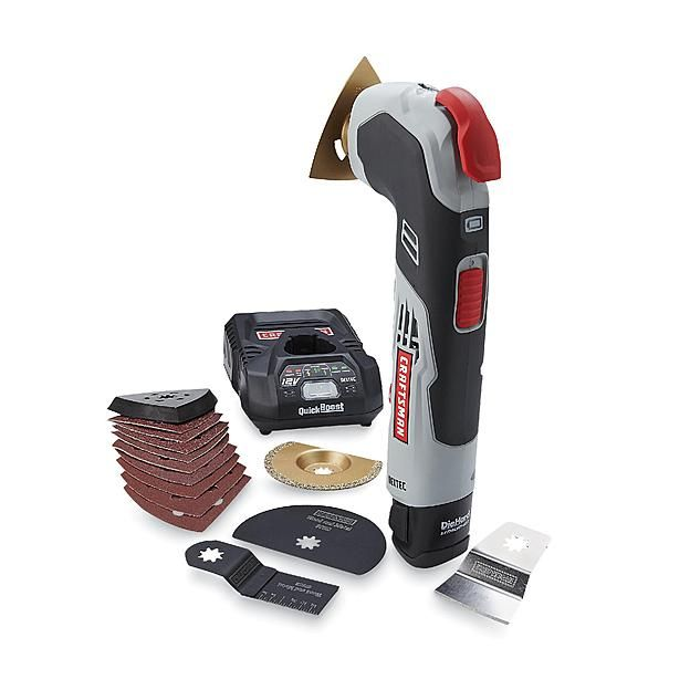 Craftsman Nextec 12v Multi Too With Quick Release Power Up With Deals At Sears Multitool Craftsman Diy Tools